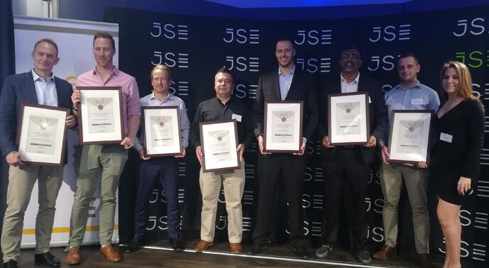 EasyEquities Scoop awards 2019 at the JSE